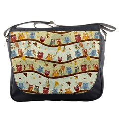 Autumn Owls Messenger Bag