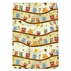 Autumn Owls Removable Flap Cover (large)