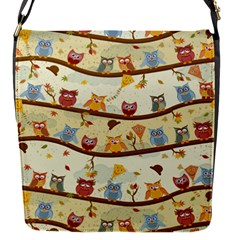 Autumn Owls Removable Flap Cover (small)