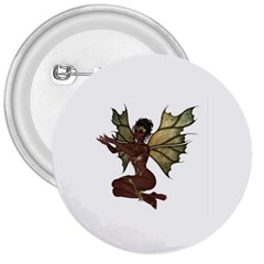 Faerie Nymph Fairy with outreaching hands 3  Button