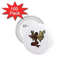 Faerie Nymph Fairy With Outreaching Hands 1 75  Button (100 Pack)