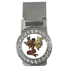 Faerie Nymph Fairy with outreaching hands Money Clip (CZ)