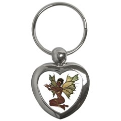 Faerie Nymph Fairy With Outreaching Hands Key Chain (heart)