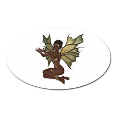 Faerie Nymph Fairy with outreaching hands Magnet (Oval)