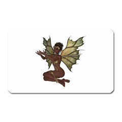 Faerie Nymph Fairy With Outreaching Hands Magnet (rectangular)