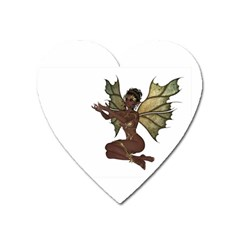 Faerie Nymph Fairy With Outreaching Hands Magnet (heart)
