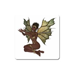 Faerie Nymph Fairy with outreaching hands Magnet (Square)