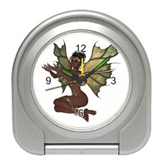 Faerie Nymph Fairy with outreaching hands Desk Alarm Clock