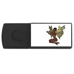 Faerie Nymph Fairy with outreaching hands 4GB USB Flash Drive (Rectangle)
