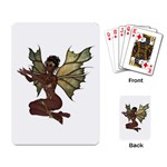 Faerie Nymph Fairy with outreaching hands Playing Cards Single Design Back