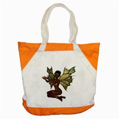 Faerie Nymph Fairy with outreaching hands Accent Tote Bag