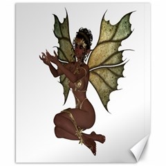 Faerie Nymph Fairy With Outreaching Hands Canvas 8  X 10  (unframed)