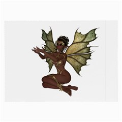 Faerie Nymph Fairy With Outreaching Hands Glasses Cloth (large)
