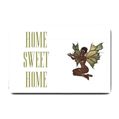 Fairy With Outreached Hands Small Door Mat
