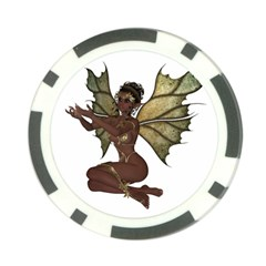 Faerie Nymph Fairy with outreaching hands Poker Chip
