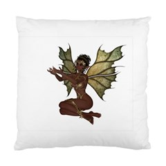 Faerie Nymph Fairy with outreaching hands Cushion Case (Two Sided)