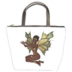 Faerie Nymph Fairy With Outreaching Hands Bucket Handbag