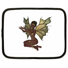 Faerie Nymph Fairy With Netbook Sleeve (xxl)
