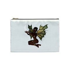 Faerie Nymph Fairy with outreaching hands Cosmetic Bag (Medium)