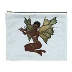 Faerie Nymph Fairy with outreaching hands Cosmetic Bag (XL)