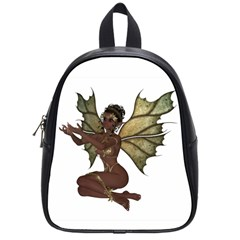 Faerie Nymph Fairy with outreaching hands School Bag (Small)