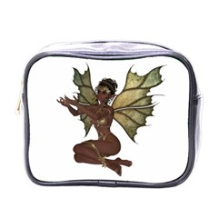 Faerie Nymph Fairy with outreaching hands Mini Travel Toiletry Bag (One Side)
