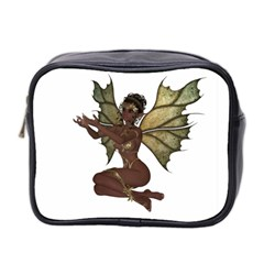 Faerie Nymph Fairy With Outreaching Hands Mini Travel Toiletry Bag (two Sides)