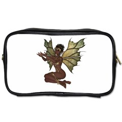 Faerie Nymph Fairy With Outreaching Hands Travel Toiletry Bag (one Side)
