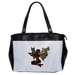 Faerie Nymph Fairy with outreaching hands Oversize Office Handbag (One Side)