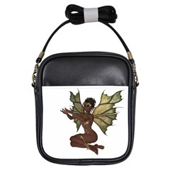 Faerie Nymph Fairy with outreaching hands Girl s Sling Bag