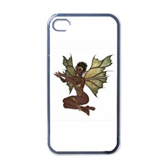 Faerie Nymph Fairy With Outreaching Hands Apple Iphone 4 Case (black)