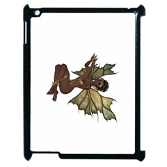 Faerie Nymph Fairy with outreaching hands Apple iPad 2 Case (Black)