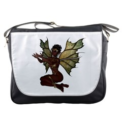 Faerie Nymph Fairy with outreaching hands Messenger Bag