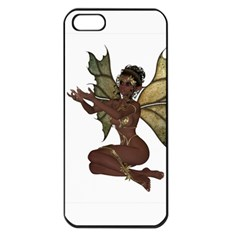 Faerie Nymph Fairy With Outreaching Hands Apple Iphone 5 Seamless Case (black)