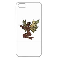 Faerie Nymph Fairy With Outreaching Hands Apple Seamless Iphone 5 Case (clear)
