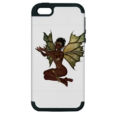 Faerie Nymph Fairy With Outreaching Hands Apple Iphone 5 Hardshell Case (pc+silicone)