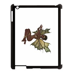 Faerie Nymph Fairy with outreaching hands Apple iPad 3/4 Case (Black)