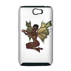Faerie Nymph Fairy with outreaching hands Samsung Galaxy Note 2 Hardshell Case (PC+Silicone)