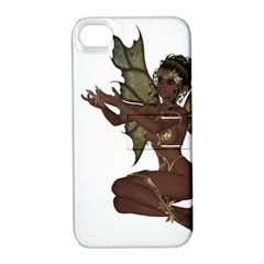 Faerie Nymph Fairy with outreaching hands Apple iPhone 4/4S Hardshell Case with Stand