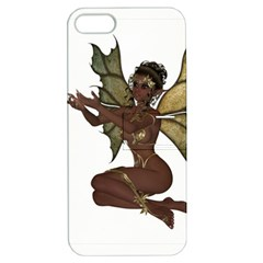 Faerie Nymph Fairy With Outreaching Hands Apple Iphone 5 Hardshell Case With Stand