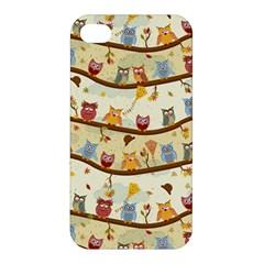 Autumn Owls Apple iPhone 4/4S Hardshell Case