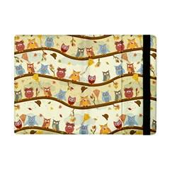 Autumn Owls Apple iPad Mini Flip Case