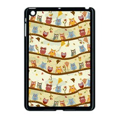Autumn Owls Apple iPad Mini Case (Black)