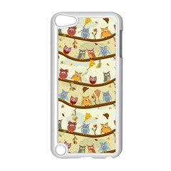 Autumn Owls Apple iPod Touch 5 Case (White)