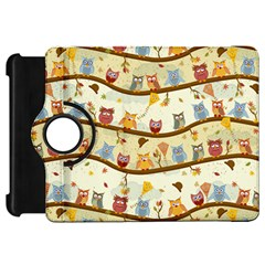 Autumn Owls Kindle Fire Hd 7  (1st Gen) Flip 360 Case