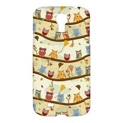 Autumn Owls Samsung Galaxy S4 I9500/I9505 Hardshell Case