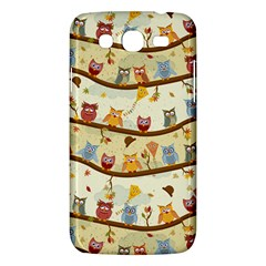 Autumn Owls Samsung Galaxy Mega 5 8 I9152 Hardshell Case