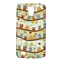 Autumn Owls Samsung Galaxy S4 Active (I9295) Hardshell Case
