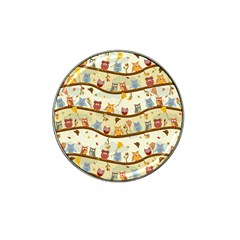 Autumn Owls Golf Ball Marker 10 Pack (for Hat Clip)