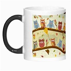Autumn Owls Morph Mug
